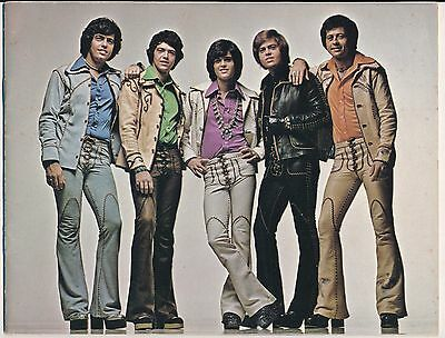 HAND SIGNED by The Late George Osmond -The Osmonds 1975 Souvenir Program-#520
