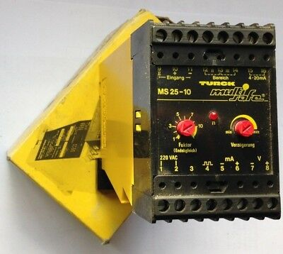 Truck MS 25-10 Multi-safe Rotational Speed Monitor Relay 220V AC