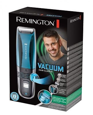 Remington HC6550 Men Cordless Rechargeable Vacuum Hair Clipper Trimmer