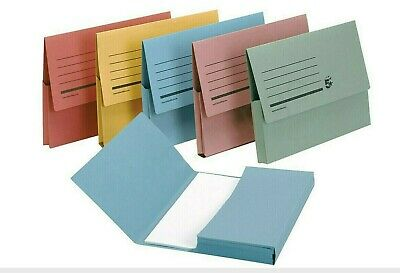 A4/ Foolscap Cardboard Envelope Filing Document Wallet Folders  Over 1000 Sold