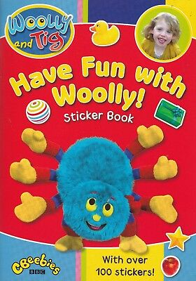 Woolly And Tig, Have Fun With Woolly Sticker Book, New Paperback