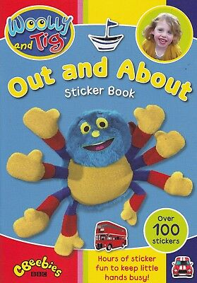 Woolly And Tig, Out And About Sticker Book, New Paperback