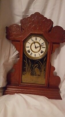Antique Key Wind-up Clock