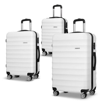 "3PCS Luggage Suitcase Trolley Set Travel Carry On Bag Hard Case 20"" 24"" 28"" #A"