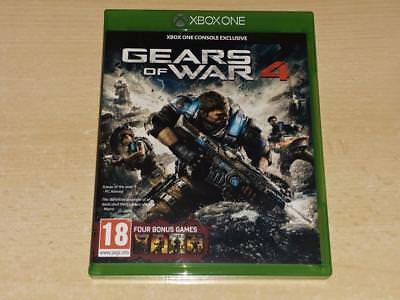 Gears of War 4 Xbox One **FREE UK POSTAGE**