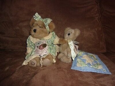 Longaberger Boyd's Bear Exclusive Grammy Quiltsbeary With Patches Plush Bear