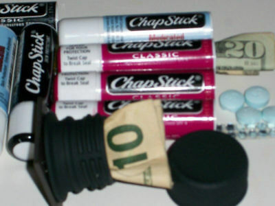Chapstick Hidden Compartment Diversion Can Safe, Free Gift