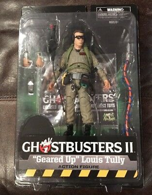 """Ghostbusters II Diamond Select """"Geared Up"""" Louis Tully action figure MINTY FRESH"""