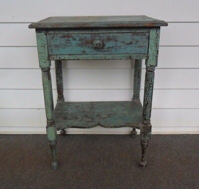 Vintage Antique (One Drawer Wooden Wash Stand)