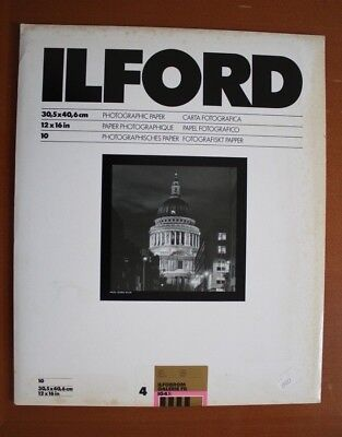 Ilford Ilfobrom Galerie FB - 30x40cm 10 sheets (sealed & unopened)