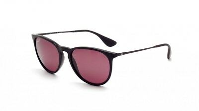 Ray-Ban Women's Polarized Violet Erika RB4171 601/5Q 54-18 Black Frame