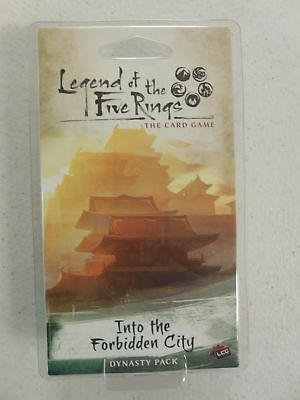 NEW L5R Legend of the Five Rings LCG Into the Forbidden City Dynasty Pack