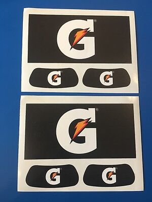 GATORADE ENERGY DRINK 2 Sheets Of Promo Stickers Decals