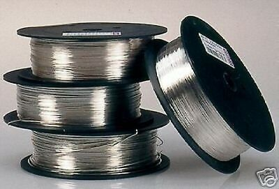 0.8 mm (20 gauge) Silver Plated Craft/Jewellery / Florist Wire 1 kg 220 mt