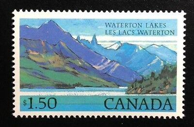 Canada #935i NF without Beacon, MNH, Waterton Lakes Park Definitive Stamp 1982