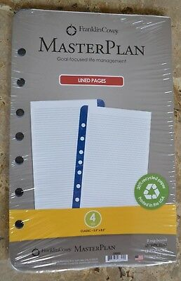 Franklin Covey Classic Lined Pages