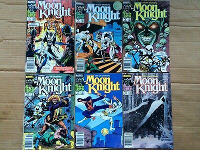 Moon Knight, Fists Of Khonshu #1-6 *Complete Series*