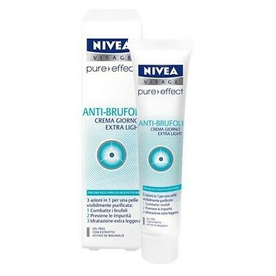 Nivea Crema Giorno Extra Light Anti-Spot Pure Effect Anti Brufoli 40Ml