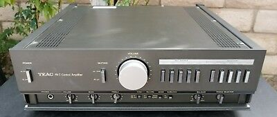 TEAC PA-7 Stereo Control Preamplifier Preamp Phono MM MC Rare