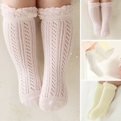 High Knee Baby Infant Socks Boy Kids Leg Newborn Non-slip Stockings Long Tights