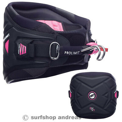 Pro Limit ENVY Damen Größe L 2017 Schwarz Windsurf Hüft Trapez harness
