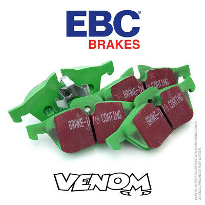 EBC GreenStuff Front Brake Pads for Ford Fiesta Mk7 1.4 97 2008-2015 DP22002