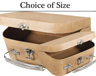 Paper Mache Suitcase to Decorate - Choice of Sizes