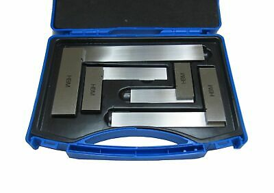 """Rdgtools Engineers 4Pc Square Set 4"""", 6"""", 9"""", 12"""" Boxed High Quality Measuring"""