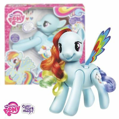 New My Little Pony Flip And Whirl Rainbow Dash Figure Cutie Mark MLP Official
