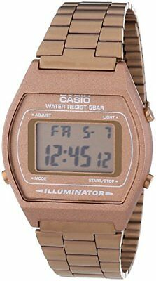 Casio Unisex Collection Digital Watch with Stainless Steel Bracelet B640WC-5AEF