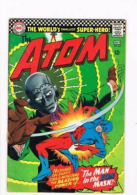 Atom 25 # The Man in the Ion Mask ! Gil Kane cover grade 5.0 scarce book !!