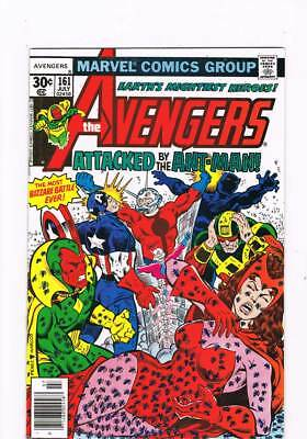 Avengers # 161  Attacked by Ant-Man & Ultron-8 !   grade 8.5 scarce book !