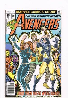 Avengers # 173  ...And the there were None !  grade 8.5 scarce book !