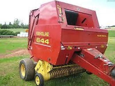 NEW HOLLAND 841 - 861 Round Baler Twine Tie Operator's Manual Book