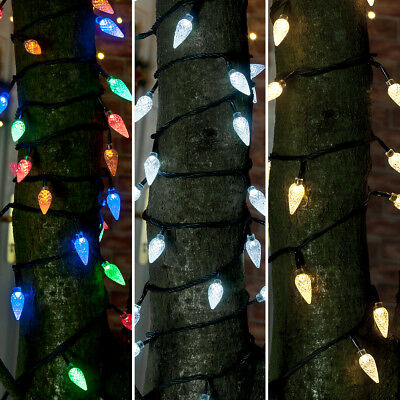 Connectable 24V Outdoor Garden Christmas Pinecone Led Fairy String Lights