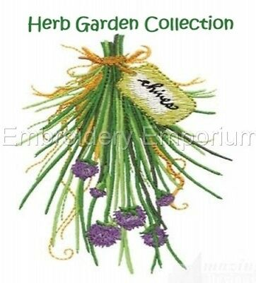 Herb Garden Collection - Machine Embroidery Designs On Cd