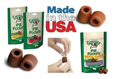 Greenies Pill pockets treat For Dog Chicken Hickory Smoke & Peanut butter flavor