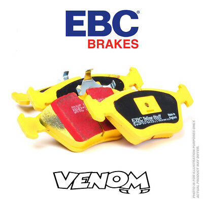 EBC YellowStuff Front Brake Pads for Suzuki Swift 1.3 GTi (AA33S) 86-88 DP4762R