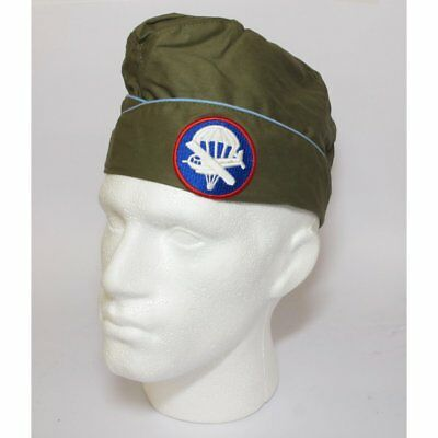 Hobby & Work Repro Wwii Us Army Airbourne Infantry Garrison Cap-Olive Drab No7