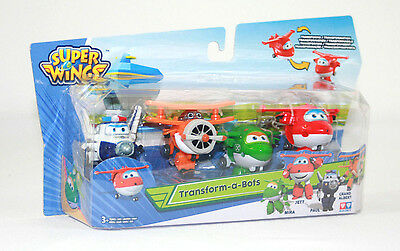 Super Wings 4 er, Jett  Paul Grand Albert Mira mini transforming Superwings