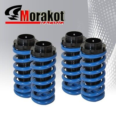 00-05 Eclipse Scale Adjustable JDM Coil Coilover Lowering Spring Dual Lock Blue