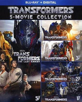 Transformers 5-Movie Collection New Blu-Ray Disc
