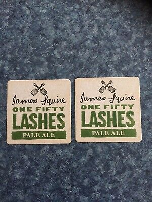 (2X) James Squire Pale Ale Beer Coasters / Mats