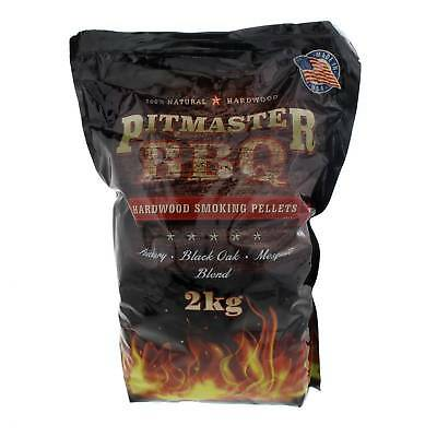 USA Hardwood Smoking Pellets 2kg Smoker Smoke Pellet 100% Natural American