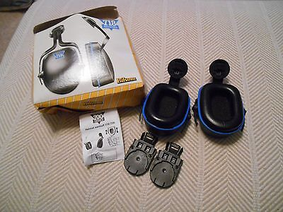 NEW! Bilsom Helmet Mounted Ear Muffs No. 2718, box is rough, lot of 3