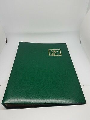 """Vintage """"Stamp"""" FDC/Postcard/Notes Album Empty with 10 Inserts 20 Spaces"""