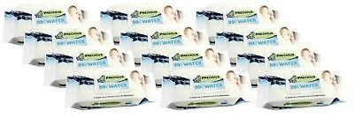 Precious - Water Wipes (80 Wipes, Carton 12)