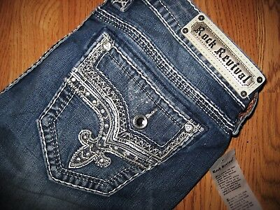 """Rock Revival Easy Skinny """"Betty"""" Nwt Womens Designer Jeans Size 31"""