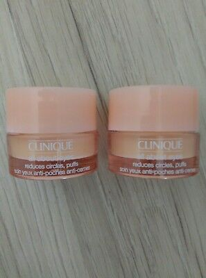 2 x all about eyes Clinique total  10 ml anti cernes poches