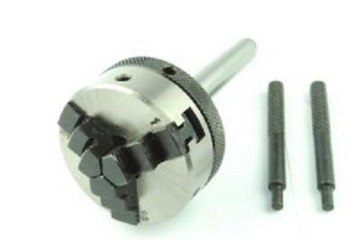 """Proops 2"""" 50mm 3 Jaw Lever Scroll Chuck & 2mt 2 M T Arbor. M9002"""